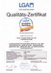 Certifikát LGA