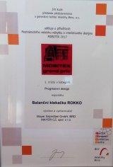 Ocenění na výstavě MOBITEX - 1. místo!